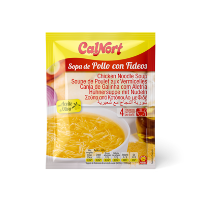 Chicken Noodle Soup with Olive Oil, 66 g sachet